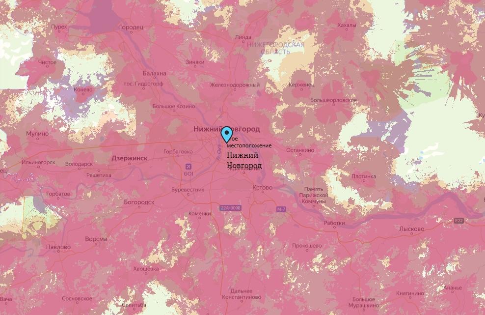 Офис Tele2 в Нижнем Новгороде — адреса на карте