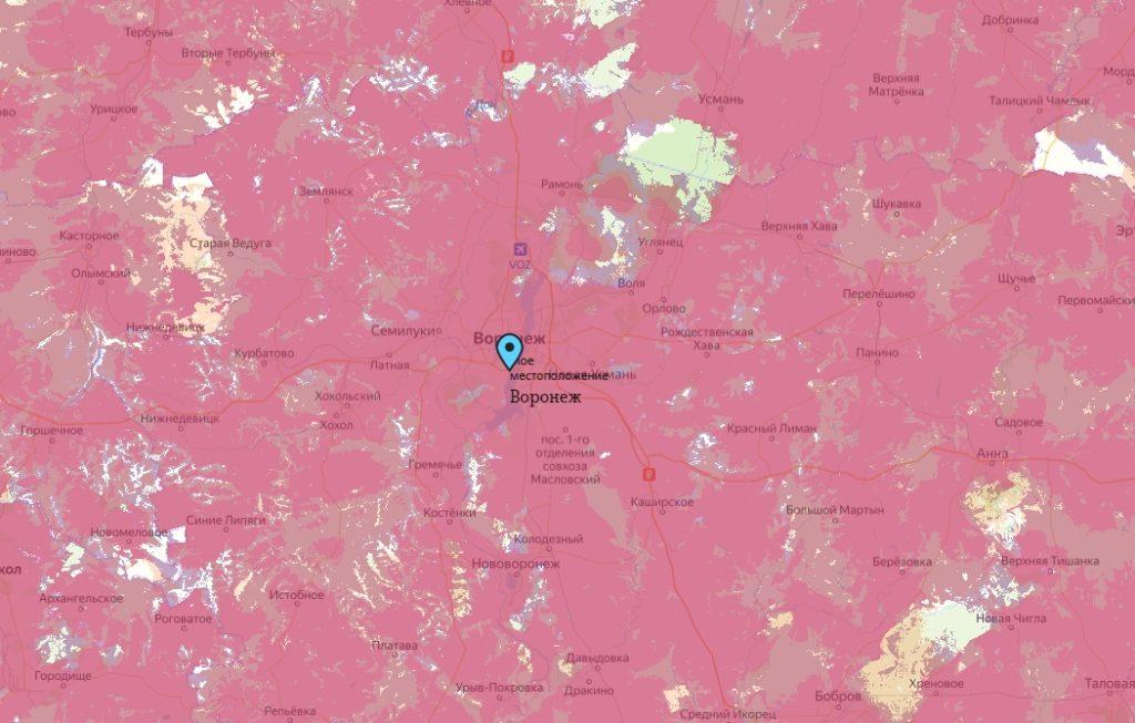 Офис Tele2 в Воронеж — адреса на карте