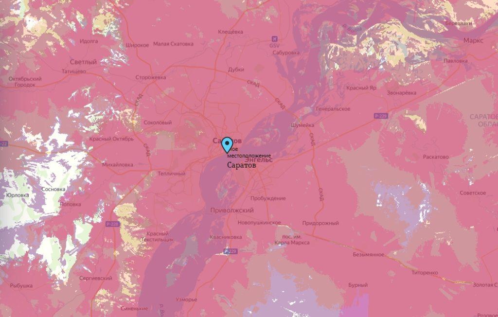 Офис Tele2 в Саратов — адреса на карте