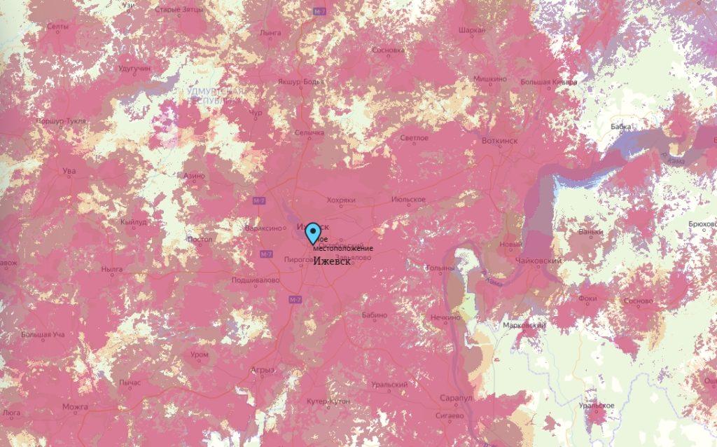 Офис Tele2 в Ижевске — адреса на карте