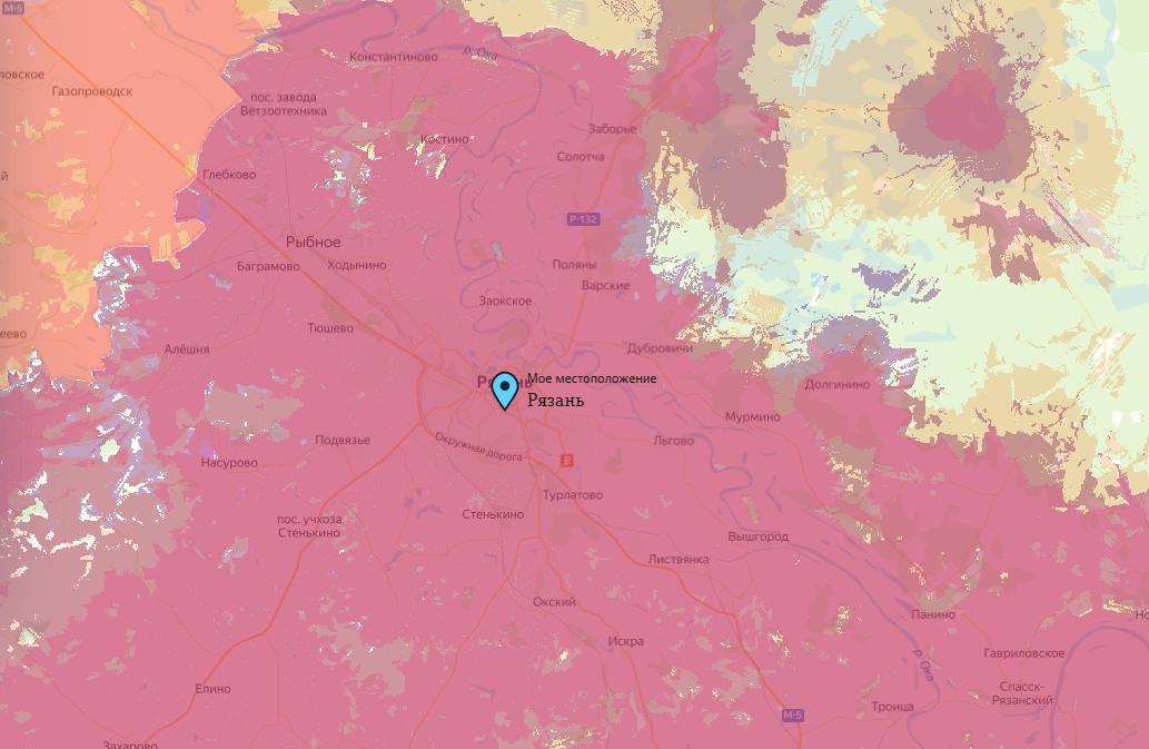 Офис Tele2 в Рязани — адреса на карте