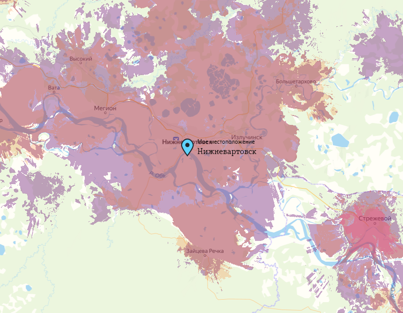 Tele2 Нижневартовск — адреса, тарифы, карта зоны покрытия, личный кабинет, официальный сайт, номер телефона